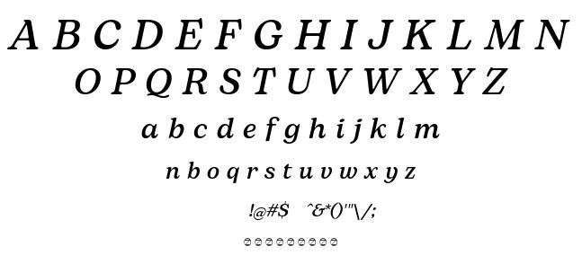 Bogart font