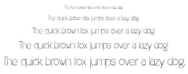 Denigan font