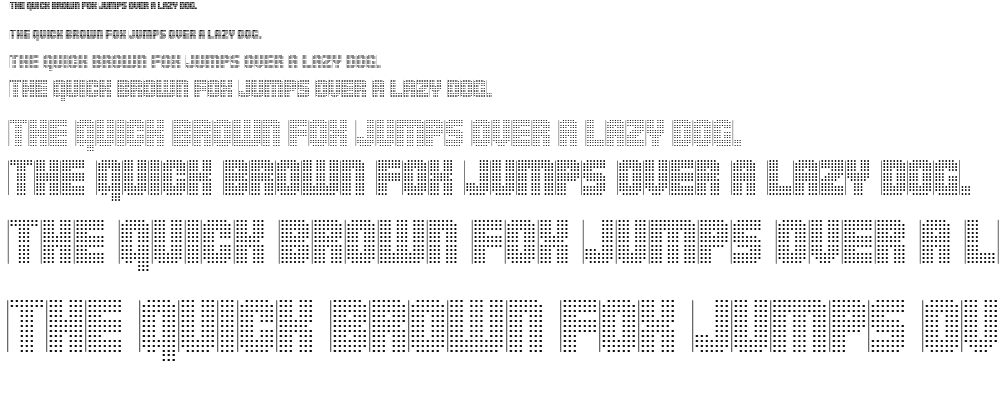 Pointer Sisters font