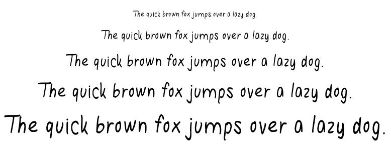 Hanna Handwriting font