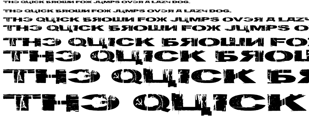 Gulag Decay font