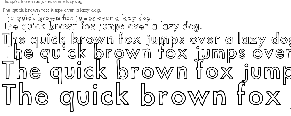 KB Out of Towner font