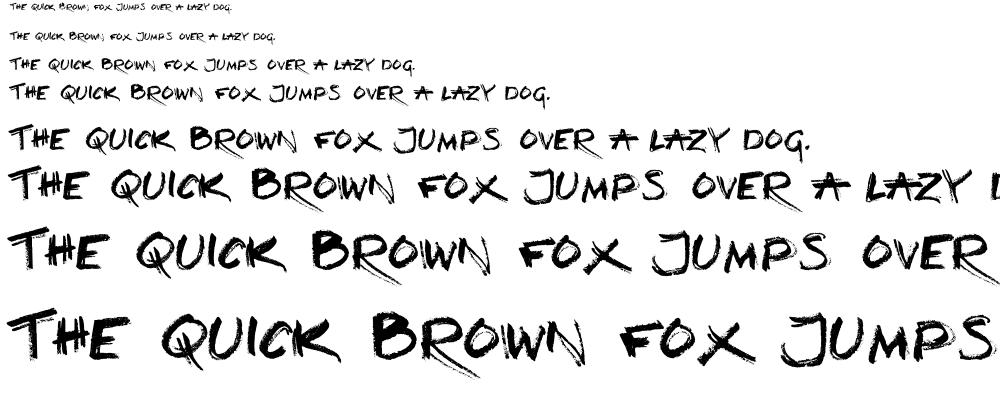 Loud and Clear font