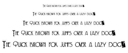 Crack Deco font