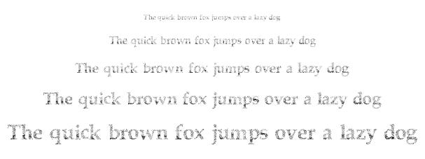 Half Faded font