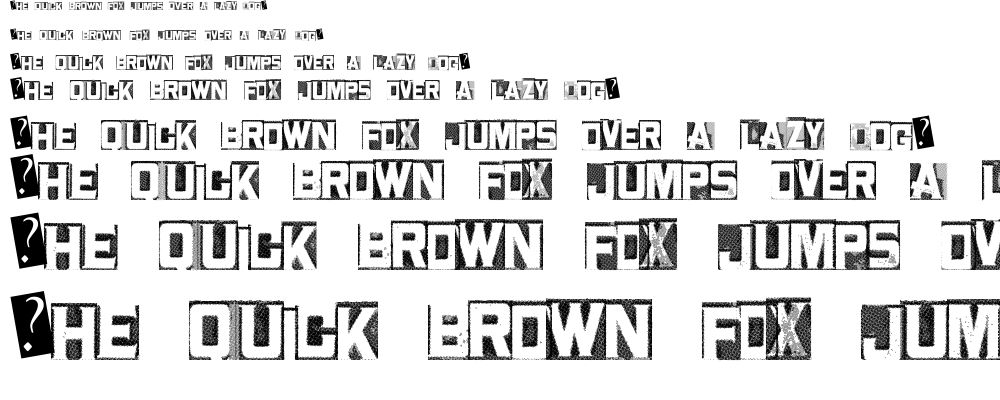 Metal Block Two font