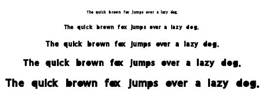 More Party font