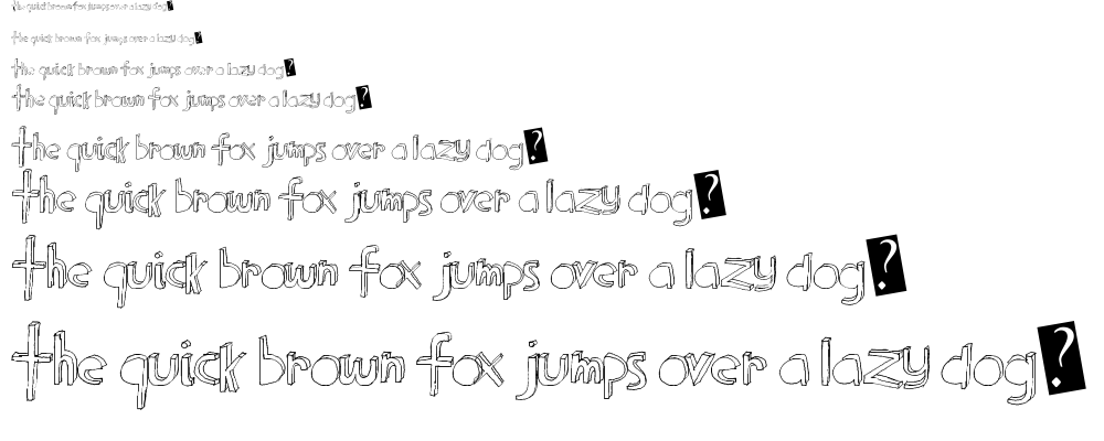 Block Party font
