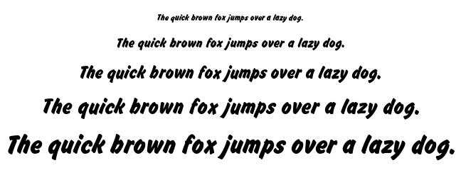 Brush Hand New font
