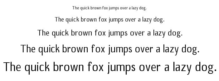 B20 Sans font