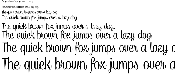 Caneletter Script font
