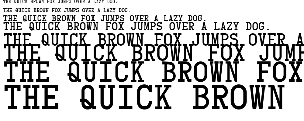 Card Characters font