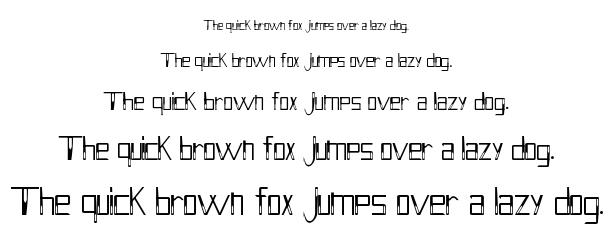 Holitter Hollow font