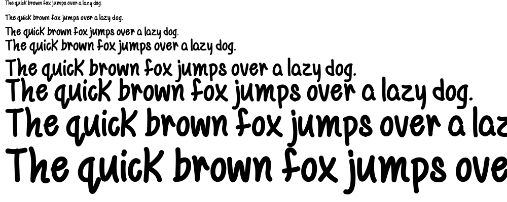 Mf Be Yourself font