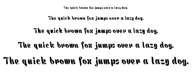 هالة font