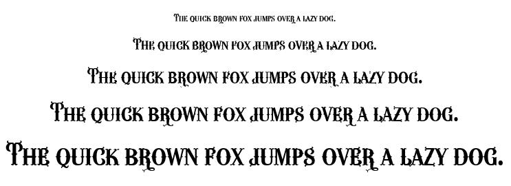 Wacamóler font