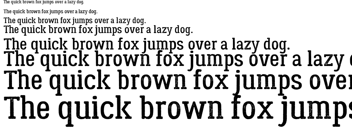 Lumberjack Rough font