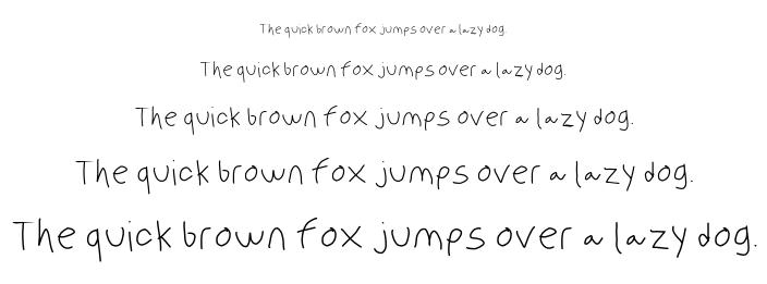 Olanwritings font