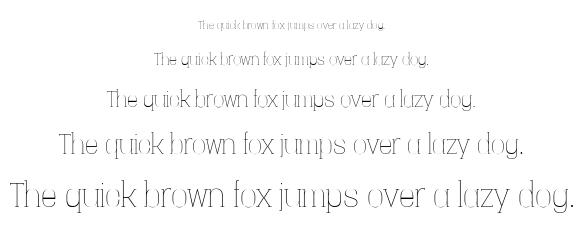 Vacer serif font