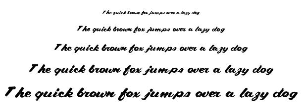 CABRIOLET font