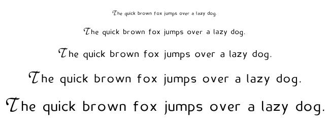 Madame Flacon font